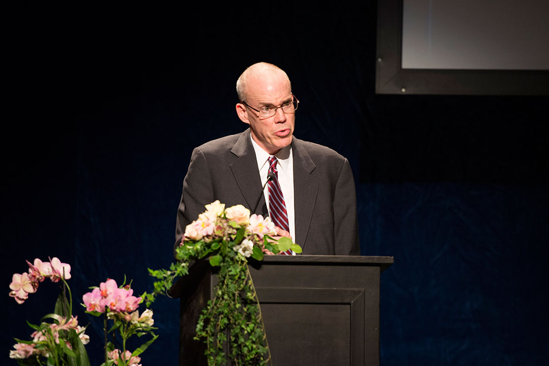 Speech by Sophie Prize Winner Bill McKibben